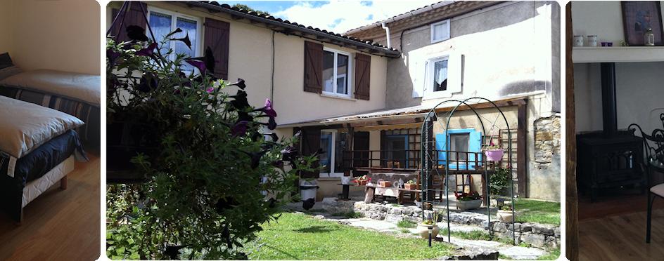 Location vacances maison Pereille: vue de l'ext�rieur